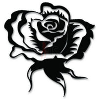 Rose Flower Decal Sticker Style 5