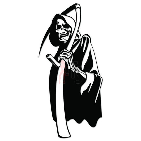 Grim Reaper Death Angel Decal Sticker Style 1