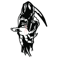 Grim Reaper Death Angel Decal Sticker Style 4