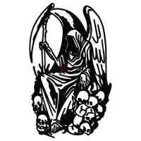 Grim Reaper Death Angel Decal Sticker Style 6