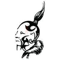 American Indian Decal Sticker Style 3