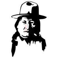 Geronimo Indian Chief Decal Sticker