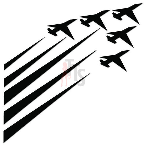 Jet Fighters Military Decal Sticker