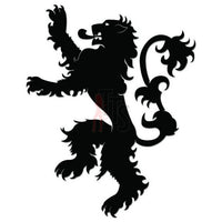 Lion Crest Emblem Decal Sticker Style 1