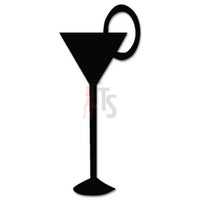 Martini Drink Decal Sticker