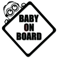 Baby On Board Decal Sticker Style 5