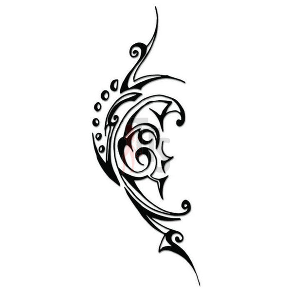 Moon Tribal Art Decal Sticker Style 1