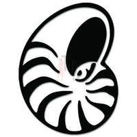 Nautilus Shell Decal Sticker