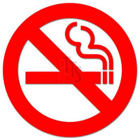 No Smoking Sign Decal Sticker Style 1