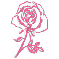 Rose Flower Decal Sticker Style 9
