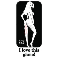 Sex Game Decal Sticker