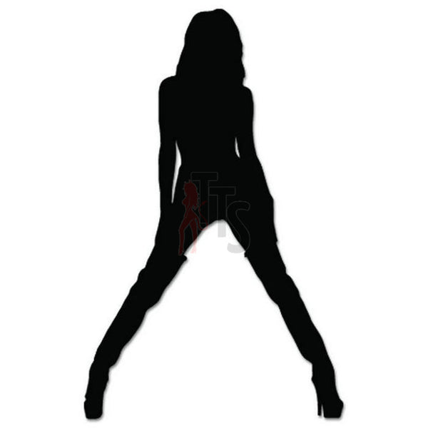 Sexy Girl Stripper Decal Sticker Style 5