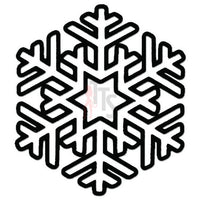 Snowflake Winter Decal Sticker Style 2