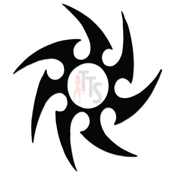 Star Tribal Art Decal Sticker Style 1