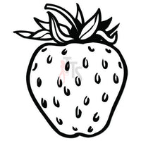 Strawberry Fruit Decal Sticker Style 2