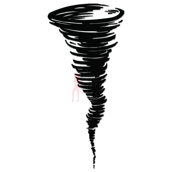 Tornado Storm Decal Sticker Style 2