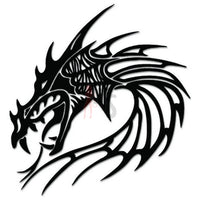 Dragon Tribal Art Decal Sticker Style 36