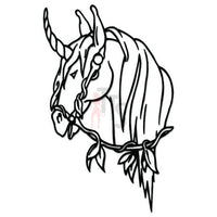 Unicorn Horse Fantasy Decal Sticker Style 1