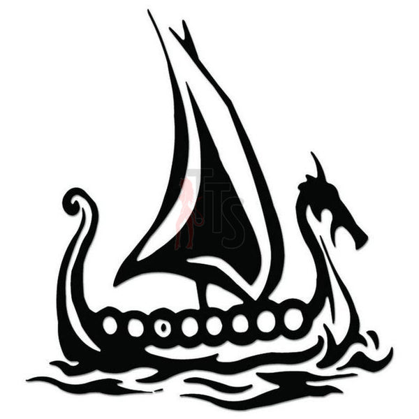 Viking Ship Norse Decal Sticker