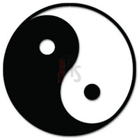 Ying Yang Symbol Taoism Buddhism Decal Sticker