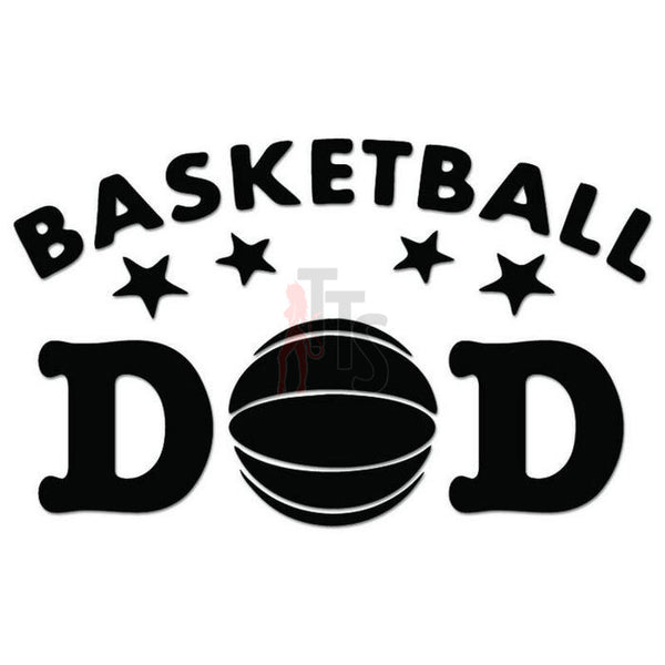 Basketball Dad Decal Sticker