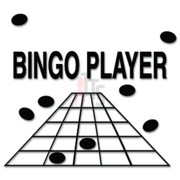 Bingo Player Decal Sticker