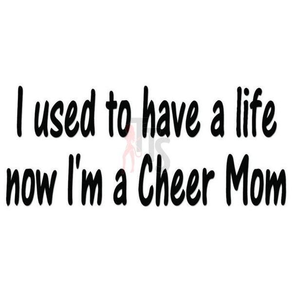 Cheer Mom Cheerleading Decal Sticker Style 2