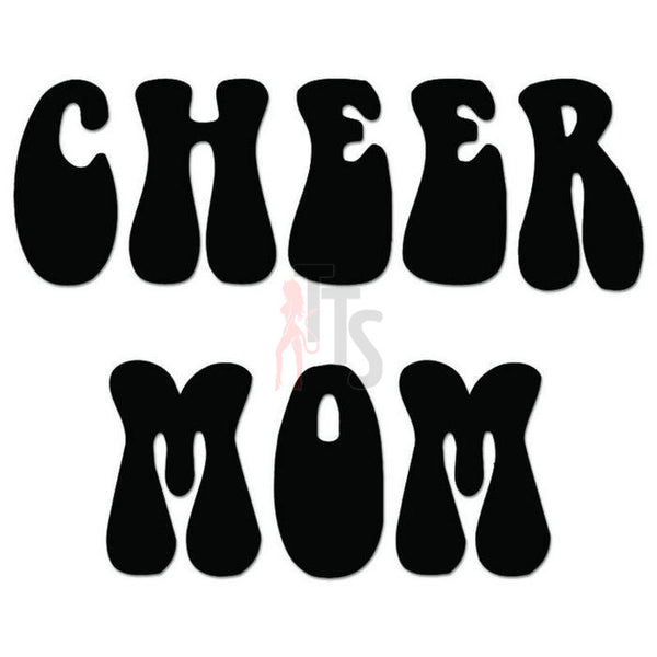 Cheer Mom Cheerleading Decal Sticker Style 3