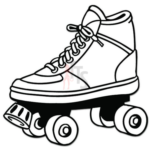 Rollerskate Shoe Decal Sticker