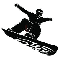 Snowboard Snowboarding Decal Sticker