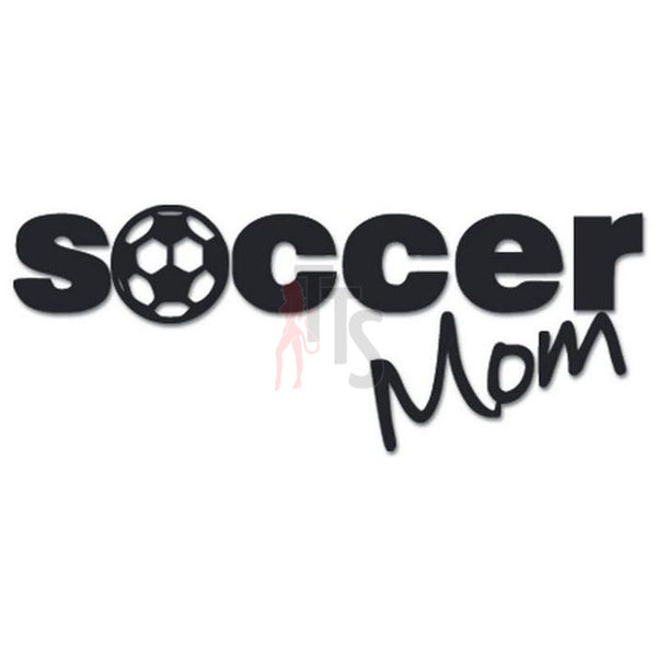 Soccer Mom Sports Decal Sticker