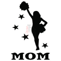 Cheer Mom Cheerleading Decal Sticker Style 4