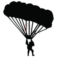 Parachuting Skydiving Decal Sticker Style 1
