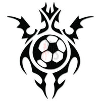 Soccer Ball Tribal Art Decal Sticker