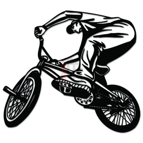BMX Bicycle Decal Sticker