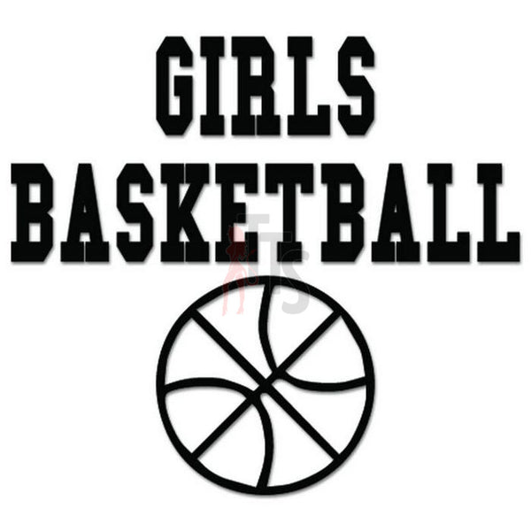 Girls Basketball Sport Decal Sticker