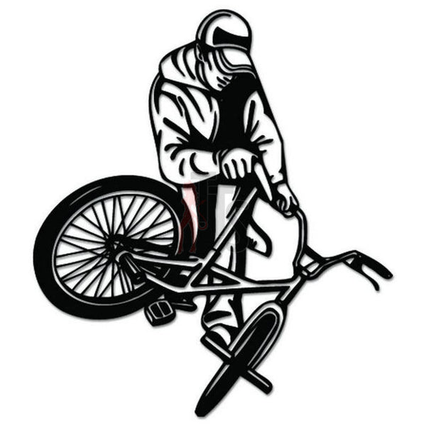 BMX Bike Bicycle Decal Sticker