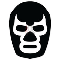 Lucha Libre Blue Demon Mask Mexican Wrestling Decal Sticker Style 1
