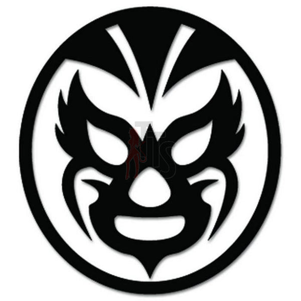 Lucha Libre Luchador Mask Mexican Wrestling Decal Sticker Style 10