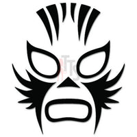 Lucha Libre Luchador Mask Mexican Wrestling Decal Sticker Style 3