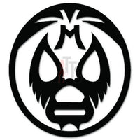 Lucha Libre Luchador Mask Mexican Wrestling Decal Sticker Style 5