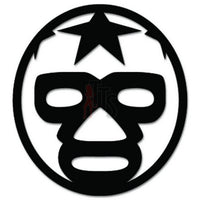 Lucha Libre Luchador Mask Mexican Wrestling Decal Sticker Style 14