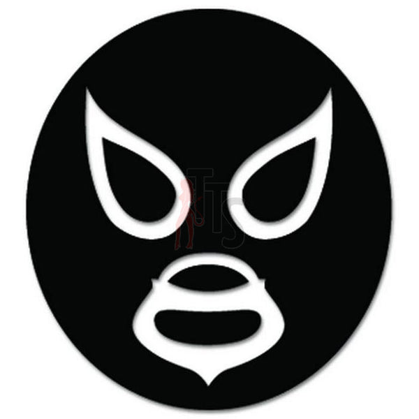 Lucha Libre Luchador Mask Mexican Wrestling Decal Sticker Style 15