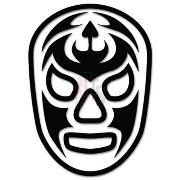 Lucha Libre Luchador Santo Misterio Mask Decal Sticker