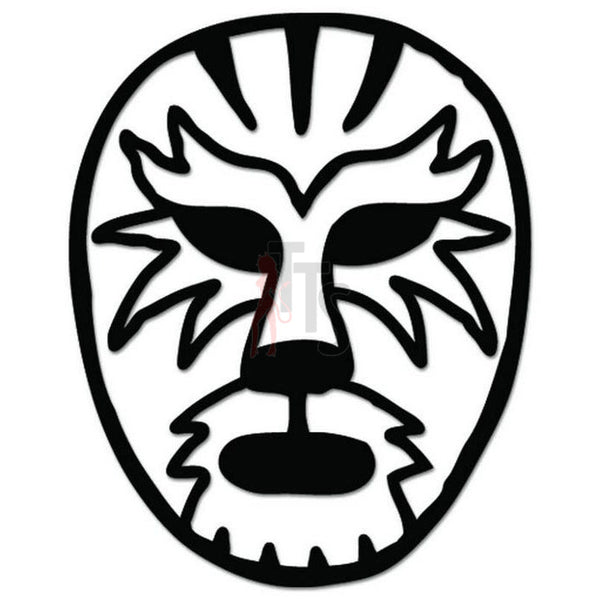 Lucha Libre Luchador Tiger Mask Decal Sticker