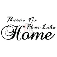 No Place Like Home Quote Decal Sticker