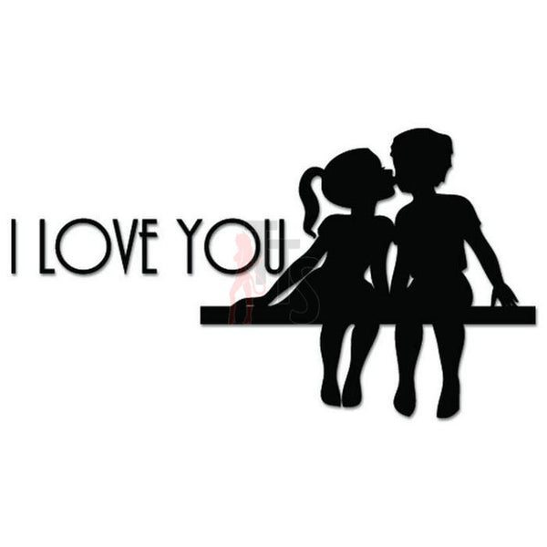 I Love You Bedroom Decal Sticker
