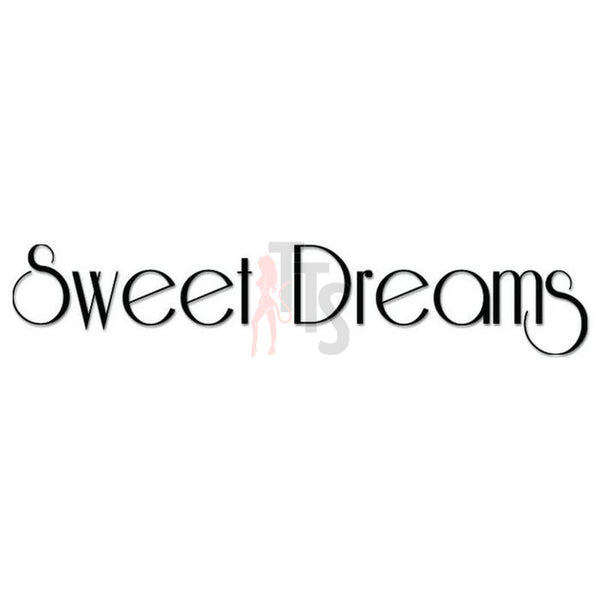 Sweet Dreams Bedroom Decal Sticker Style 1