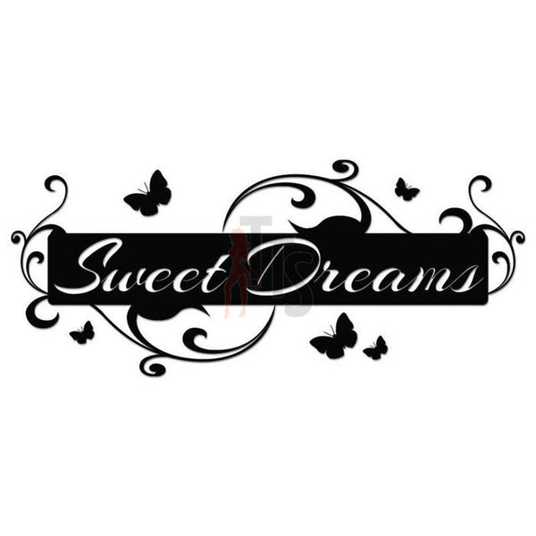 Sweet Dreams Bedroom Decal Sticker Style 2