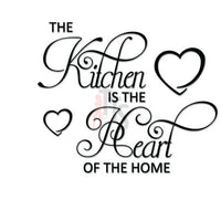 Kitchen Heart of the Home Decal Sticker Style 3